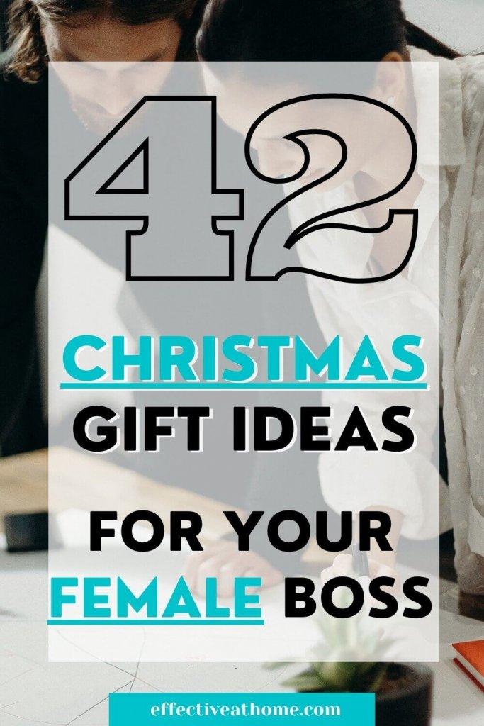 42 Christmas gift ideas for female boss