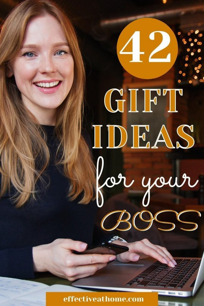 42 gift ideas for your boss