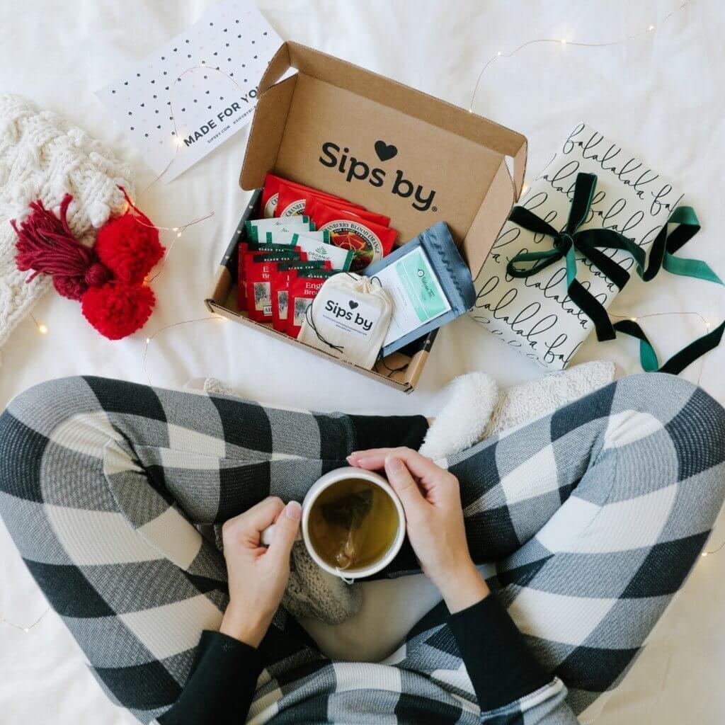 tea subscription gift card for businesswomen