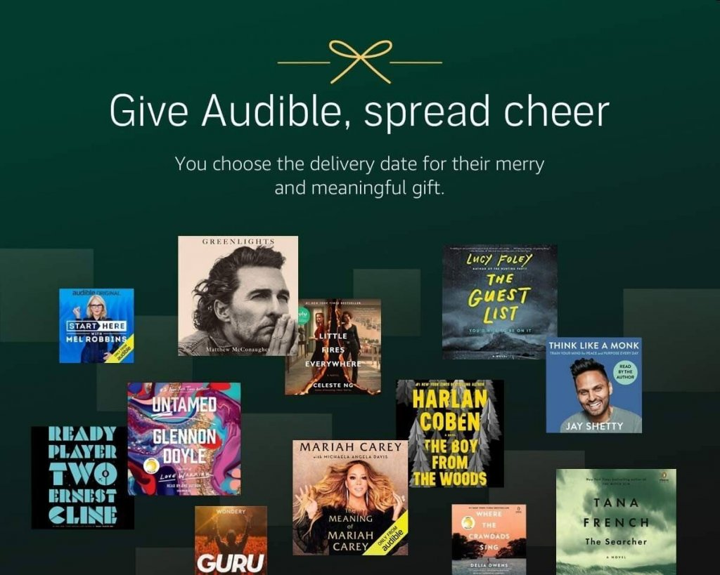 audible membership is a great educational gift for a business woman