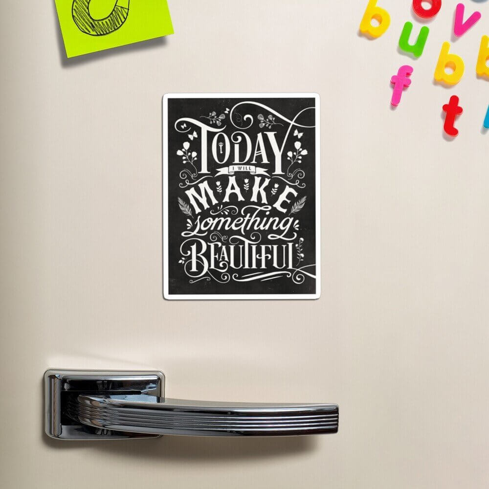 fridge magnet motivation for office workers