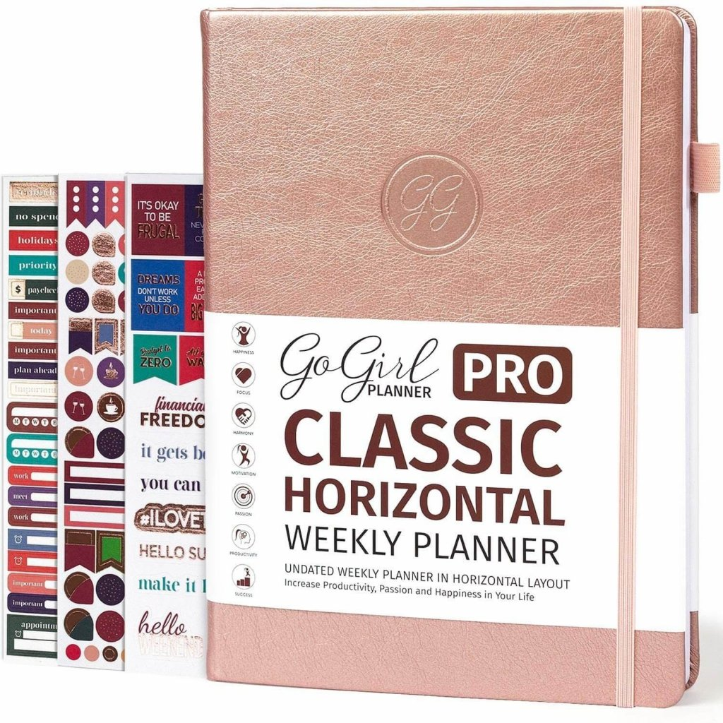 go girl pro planner is perfect for female entrepreneurs and productive women