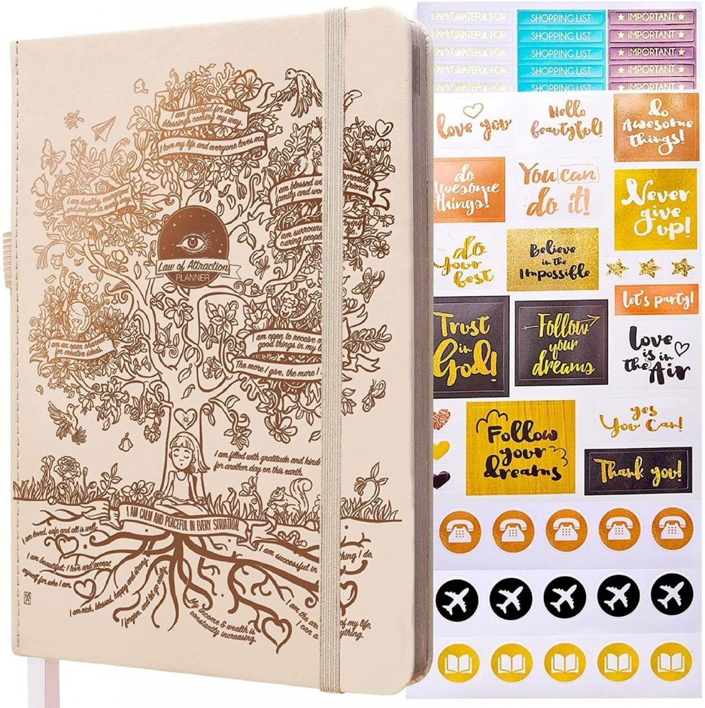 law of attraction planner is the best weekly planner for achieving your dream life