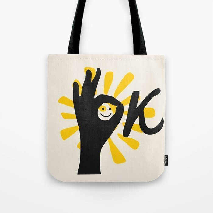 tote bag is a nice gift for green planet awareness