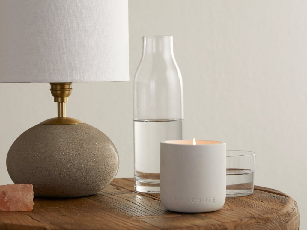 salt water candle for calmness