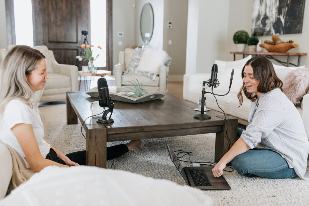 starting a podcast is one of the productive things to do at home