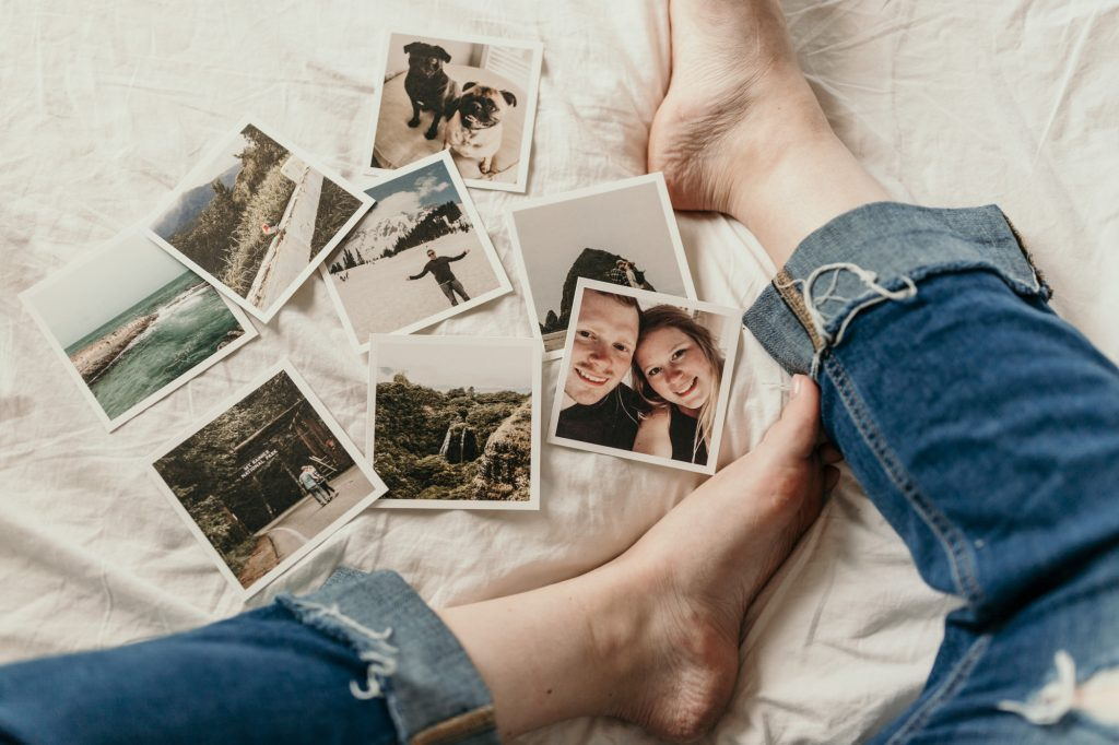 print some memories while bored at home