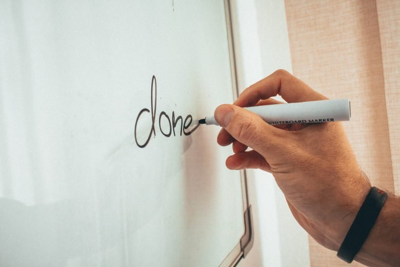 keeping a done list to improve productivity