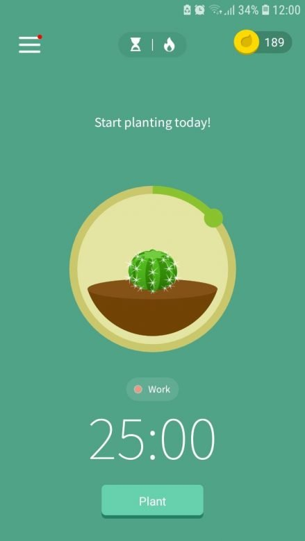 forest app for improving productivity with pomodoro technique